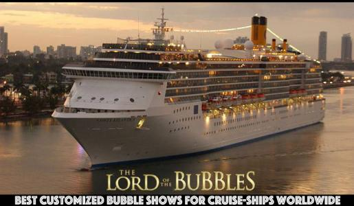 Custom Performances for Cruise-Ships